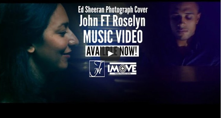 "Cover video of Ed Sheeran's ""Photograph"""